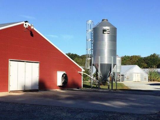 The Baker's Acres Farm is located in Millsboro, Del.