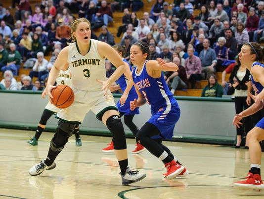 American vs. Vermont Women's Basketball 11/24/17