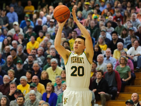 Vermont's Ernie Duncan is the program's all-time leader in career 3-point percentage.