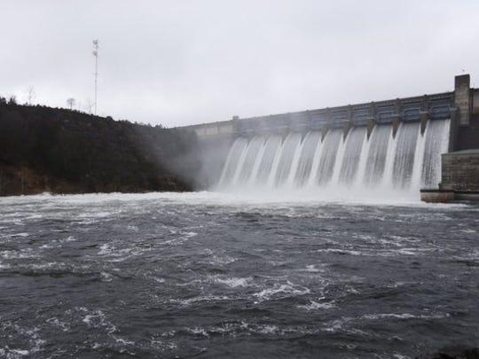 Table Rock Dam.