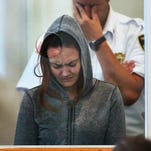 In this Monday, Sept. 21, 2015, file photo, Rachelle Dee Bond is arraigned on charges of acting after the fact in helping to dispose of the body of her daughter, the girl dubbed Baby Doe, in Dorchester District Court in Boston. Bond is scheduled to appear in court on Tuesday, Oct. 20.