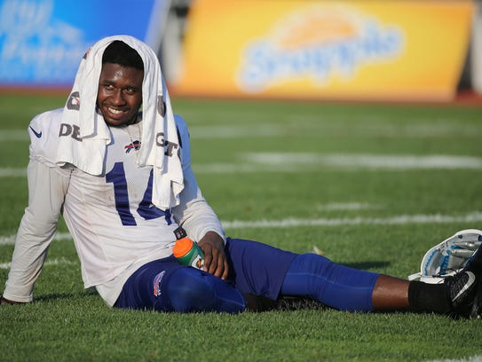 Sammy Watkins is slowly working his way back after