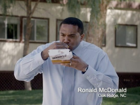 Ronald McDonald ad for Taco Bell