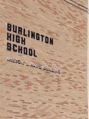 Burlington High School in May 2016.