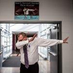 Newark high principal dabs his way to internet fame