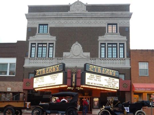 Main Street Cinemas in Mount Pleasant uses its digital