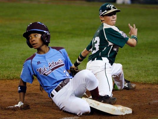 LLWS Pearland Philadelphia Baseball Davis