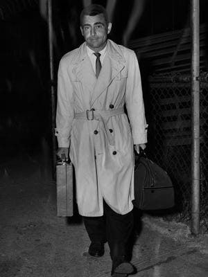 """""""Twilight Zone"""" creator Rod Serling returned to Cincinnati, where he started his career, to be honored for his success in 1959."""