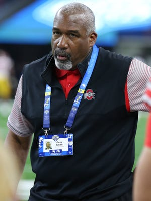 Ohio State athletic director Gene Smith has not commented publicly on the Urban Meyer situation.