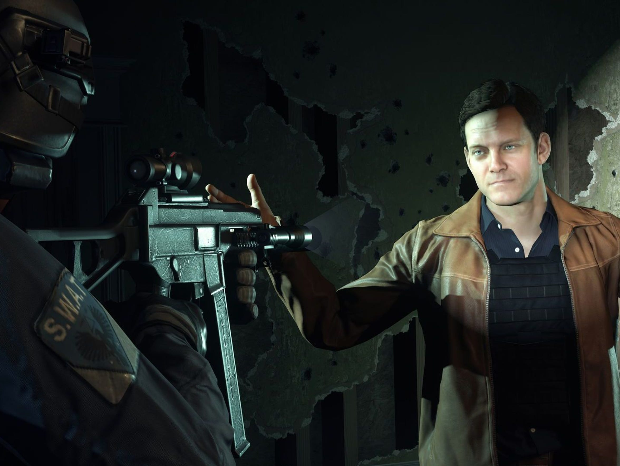 "The ""Battlefield: Hardline"" campaign features a TV"