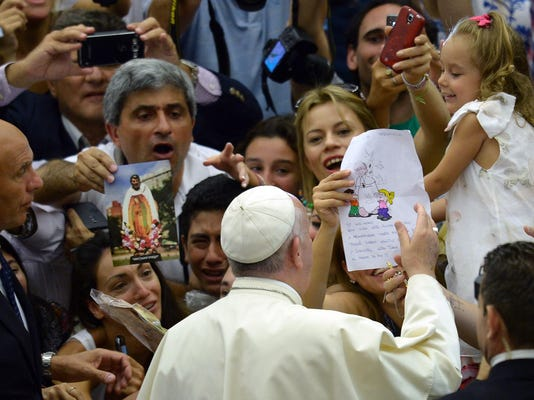 VATICAN-POPE-RELIGION-AUDIENCE