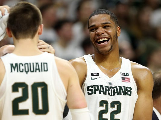 NCAA Basketball: Nebraska at Michigan State