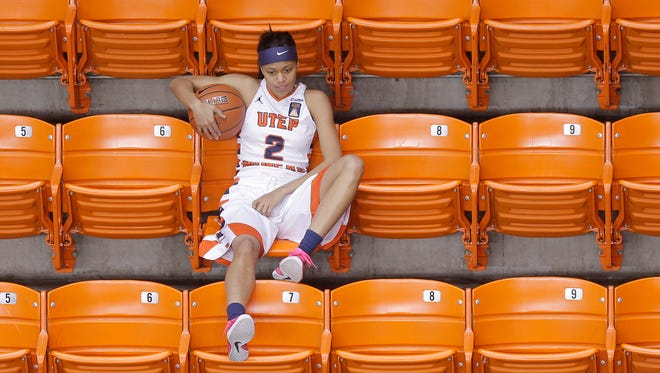"""Miner guard Cameasha Turner says, """"I do feel blessed. I was saved at a young age. God put so many people in my life at the right moments: a teacher in second grade, coaches, people who came into my life and helped me grow as a person."""""""