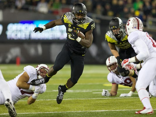 NCAA Football: Stanford at Oregon