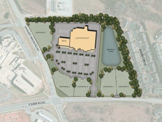 Negotiations are underway to bring a national fitness facility to Riverside Crossing in Greer.