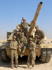 Sgt. Maj. of the Army Daniel A. Dailey, seated in center,