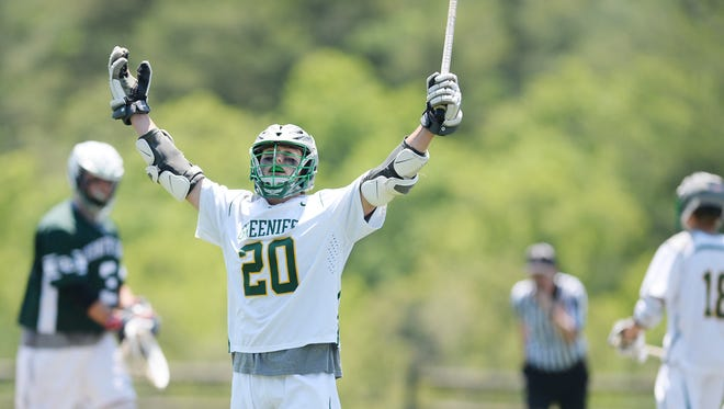 Joey Cinque and Christ School lacrosse won their first-ever state championship Saturday in Arden.