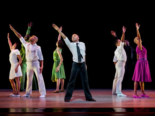 "The Alvin Ailey American Dance Theater's ""r-Evolution,"