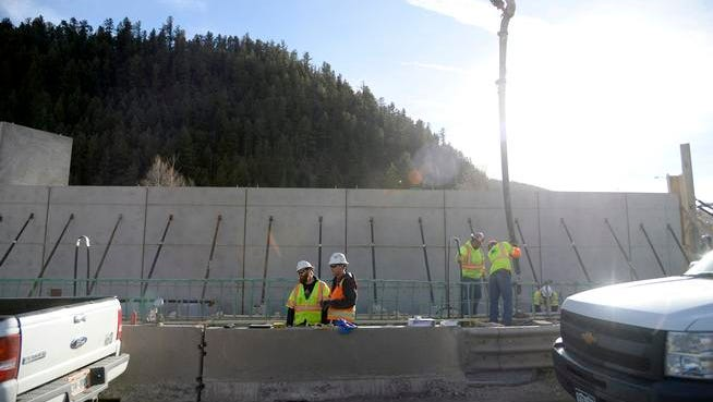 The construction of a new bridge at exit 240 on I-70, which was expected to be complete by late November, has experienced a number of delays that now has the project on pace to finish by late January. AAron Ontiveroz, The Denver Post