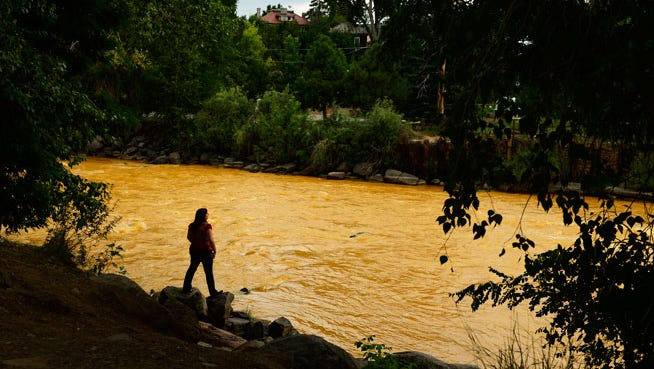Three million gallons of water containing mining waste has poured into the Animas River since Wednesday, and it is still unclear what the environmental and health impact of the spill, caused by the Environmental Protection Agency, will be.