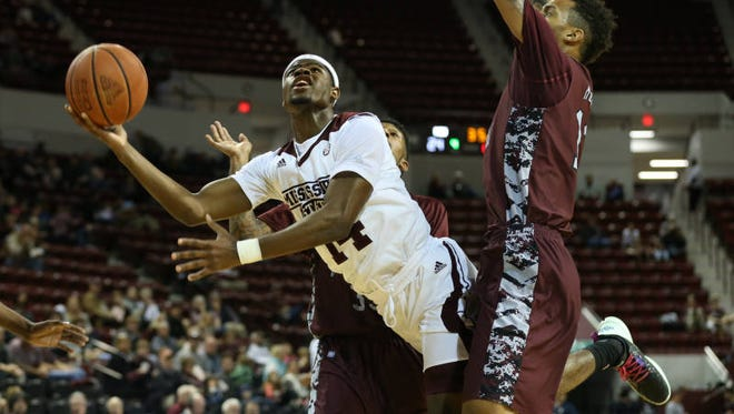 Mississippi State freshman Malik Newman puts up a shot against North Carolina Central Thursday in Starkville.