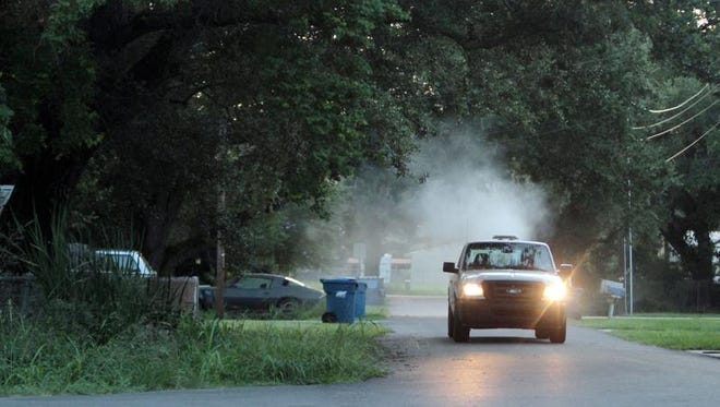 Mosquito abatement controls are currently in place in both Bossier and Caddo Parishes.