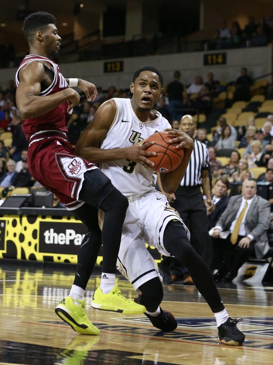 NCAA Basketball: Massachusetts at Central Florida
