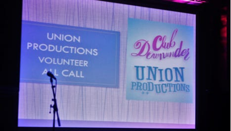 Union Productions and Club Downunder are seeking volunteers to help maintain their facilities and solid track record of bringing in notable artists.