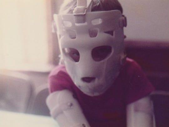 Bucky Bailey as a kid