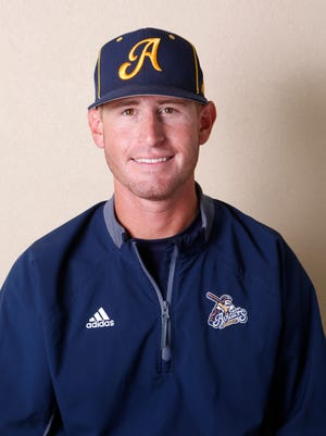 Manager Brent McNeil of the Lafayette Aviators.