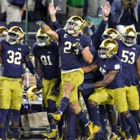 After looking 'like they were in biology class,' Notre Dame is ready for a bowl, LSU