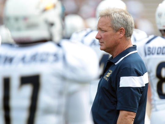 Jeff Bowden, a former offensive coordinator under at FSU under his father Bobby Bowden, is coaching with older brother Terry at Akron.