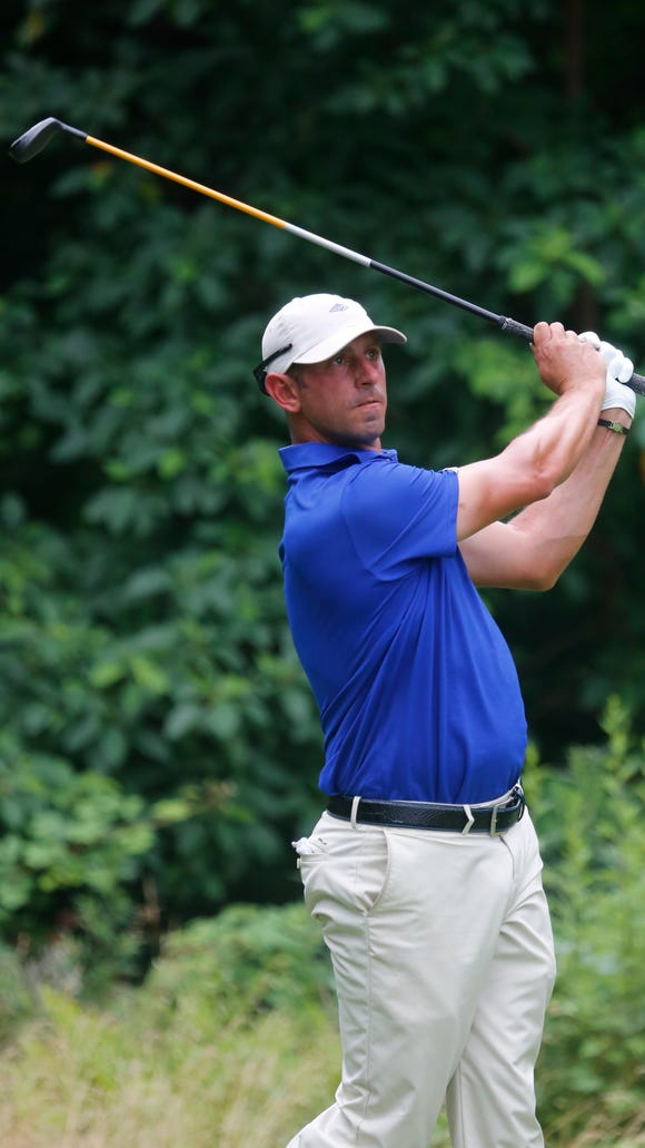 Danny Balin at the 6th tee in the Westchester Open