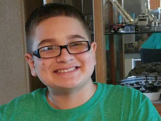 Jaymond Zulli, 13, is battling a rare brain cancer for the third time in his life.
