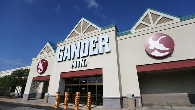 The Gander Mountain in Castleton, at 5702 E. 86th St., was robbed just before 3 a.m. Tuesday, July 19, 2016. Thieves rammed into a rear overhead door and stole eight long guns and two shotguns, police said.