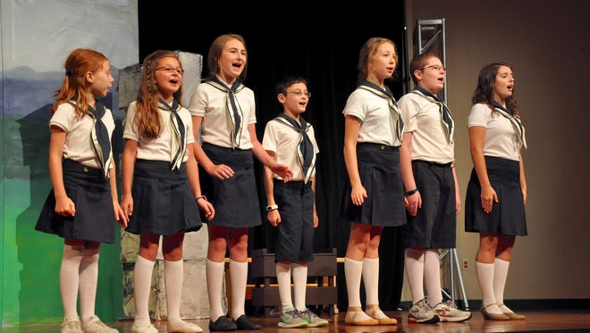 """The seven von Trapp family children sing many musical favorites in CFAB's youth production of """"The Sound of Music,"""" which runs Aug. 19-21."""
