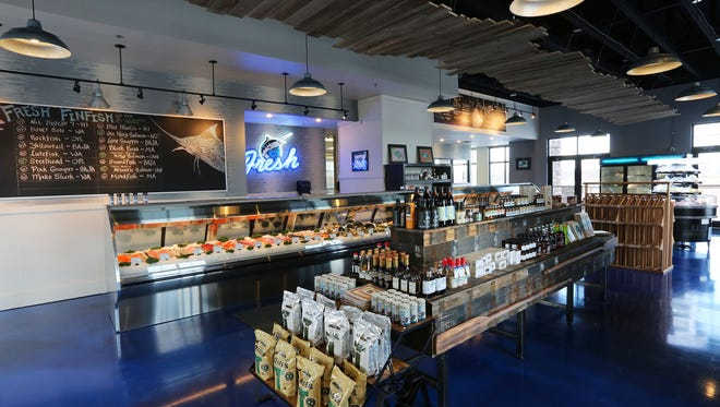 Inside Dakota Seafood Co., located at The Bridges at 57th retail center in Sioux Falls.