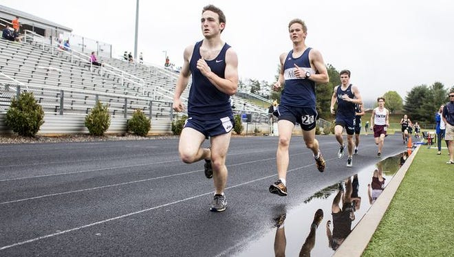 Runners compete in last year's Buncombe County track meet at North Buncombe.