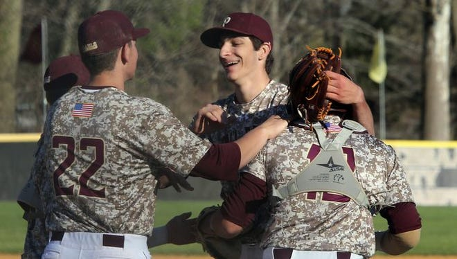 Iona Prep defeats Fordham Prep 5-1 in baseball game at Iona Prep in New Rochelle on April 20, 2016.