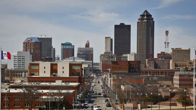 the des moines metro just grew by nearly 40 000 residents