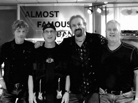 Almost Famous will perform on Dec. 9, 2016 at Rookies Sports Pub.