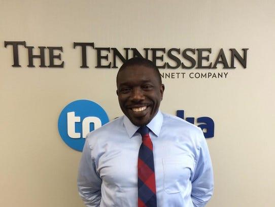 Metro Schools Director Shawn Joseph met with The Tennessean