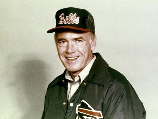 Chuck Knox had a career record of 186-147-1, ranking