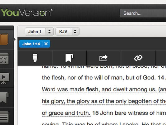 Bible app offers portability for the faithful