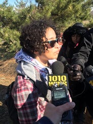 Rosa Rodriguez walked out of Sayreville High School