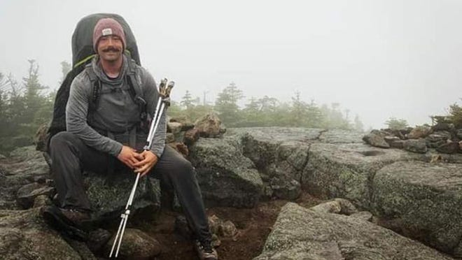 Matt Blair hiked the 48 peaks in New Hampshire of 4,000 feet or higher, raising money to help an organization that provides food for children in need.