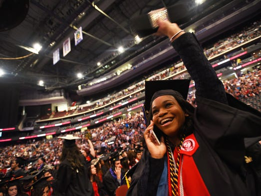 Amanda Williams, who earned a degree in Journalism,