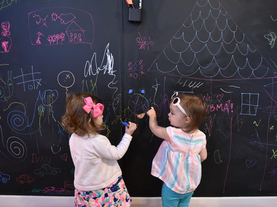 The new Art Zone, an interactive children's space,