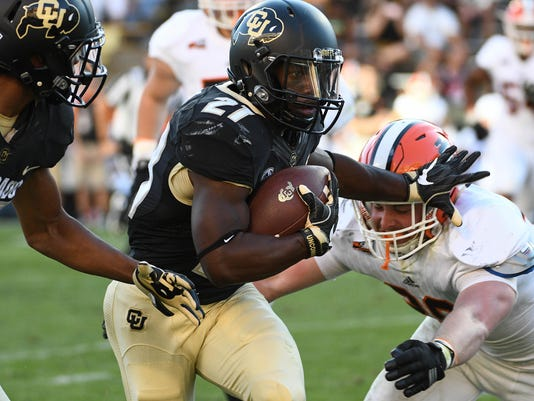 NCAA Football: Idaho State at Colorado