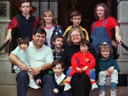 Nearly 20 years ago, Tom and Jean Gaunt adopted a family